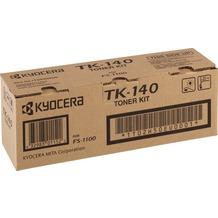 Kyocera Lasertoner TK-140 schwarz 4.000 Seiten