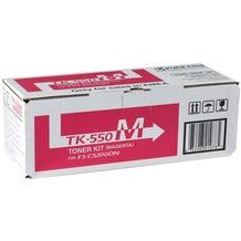 Kyocera Lasertoner TK-550M magenta 6.000 Seiten