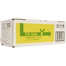 Kyocera Lasertoner TK-560Y gelb 10.000 Seiten