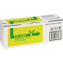 Kyocera Lasertoner TK-580Y gelb 2.800 Seiten