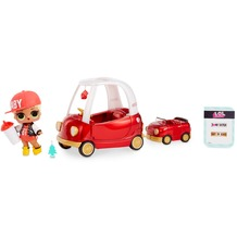 L.O.L. Surprise Furniture with Cozy Coupe & M.C. Swag