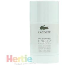 LACOSTE Eau de L.12.12 Blanc deo stick 75 ml