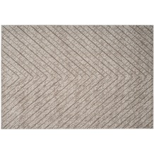 Kayoom Teppich Dominica - Delices Silber / Beige 120 x 170 cm