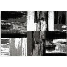 Kayoom Teppich Dominica - Roseau Silber 120 x 170 cm