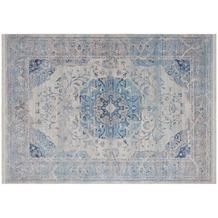 Lalee Teppich Tibet - Nagqu Blau 120 x 170 cm