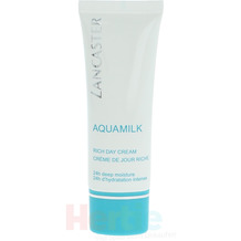 Lancaster Aquamilk Rich Day Cream Dry Skin 50 ml