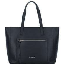 Lancaster Pur&Element Foulonné Shopper Tasche Leder 38 cm noir