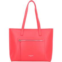 Lancaster Pur&Element Foulonné Shopper Tasche Leder 38 cm rouge