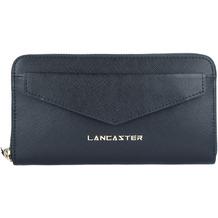 Lancaster Saffiano Signature Geldbörse Leder 19 cm noir
