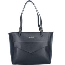 Lancaster Saffiano Signature Shopper Tasche Leder 33 cm noir