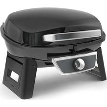 Grillchef Portabler Gasgrill schwarz