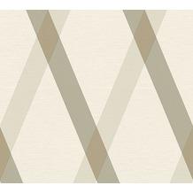 Lars Contzen Vliestapete Artist Edition No. 1 Tapete Cornish Castle braun grau weiß 10,05 m x 0,53 m