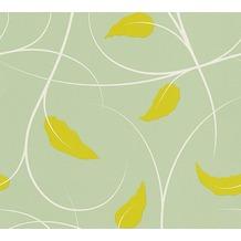 Lars Contzen Vliestapete Artist Edition No. 1 Tapete Elegance in Greenhouse gelb grün weiß 10,05 m x 0,53 m