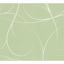 Lars Contzen Vliestapete Artist Edition No. 1 Tapete Elegance in Greenhouse grün weiß 10,05 m x 0,53 m