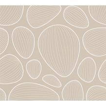 Lars Contzen Vliestapete Artist Edition No. 1 Tapete Vilde Strand beige weiß 10,05 m x 0,53 m
