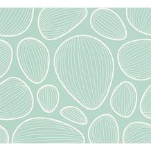 Lars Contzen Vliestapete Artist Edition No. 1 Tapete Vilde Strand blau weiß 10,05 m x 0,53 m