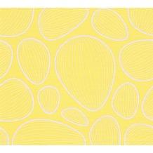 Lars Contzen Vliestapete Artist Edition No. 1 Tapete Vilde Strand gelb weiß 10,05 m x 0,53 m