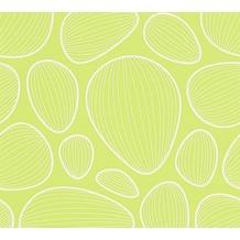 Lars Contzen Vliestapete Artist Edition No. 1 Tapete Vilde Strand grün weiß 10,05 m x 0,53 m