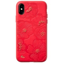 LAUT FLORA Cherry for Apple iPhone X/Xs