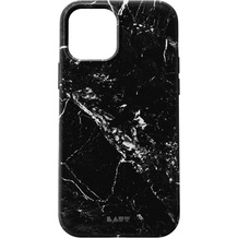 LAUT Huex Elements for iPhone 12 marble black