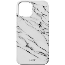 LAUT Huex Elements for iPhone 12 White Marble