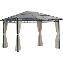 Leco Profi-Pavillon Light inkl. Seitenteile 3,6 x 3 m