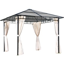 Leco Profi-Pavillon Light inkl. Seitenteile 3 x 3 m