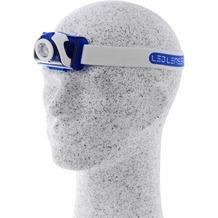 Ledlenser SEO 7R Stirnlampe blau Box