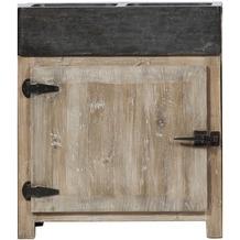 Lee & Lewis Barista Küchenelement aus Pinienholz mit einer Tür