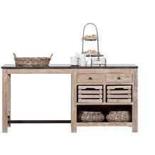Lee & Lewis Barista Kücheninsel aus Pinienholz