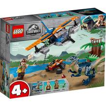 LEGO® Jurassic World™ 75942 Velociraptor: Rettungsmission mit dem Doppeldecker