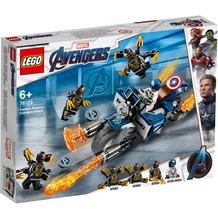 LEGO® Marvel Avengers Movie 4 76123 Captain America: Outrider-Attacke