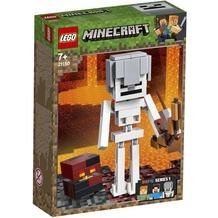 LEGO® Minecraft™ 21150 Minecraft™-BigFig Skelett mit Magmawürfel