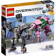 LEGO® Overwatch™ 75973 D.Va & Reinhardt