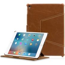 LEICKE MANNA UltraSlim Schutzhülle für das iPad Pro 9.7 Kunstleder, braun