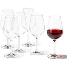 Leonardo 6er Set Rotweinglas Tivoli