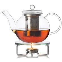 Leonardo GK/2tlg.Teekanne 0,7l mit Stövchen