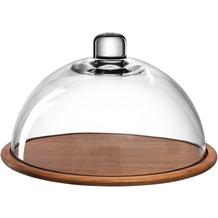 Leonardo Holzkäseplatte/Glasglocke CUCINA 2-teilig