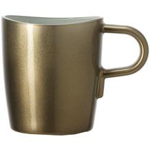 Leonardo Kaffeetasse Loop marrone metallic