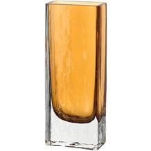 Leonardo Kastenvase LUCENTE 26 cm amber