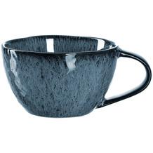 Leonardo Matera Keramiktasse 4er-Set 290 ml blau