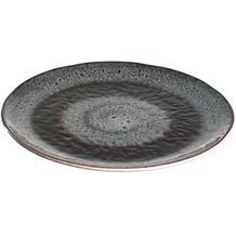 Leonardo Keramikteller MATERA 23 cm anthrazit 6er Set