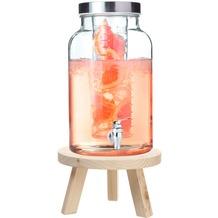 Leonardo Getränkespender 5,5l Limito + Getränkespendersockel Holz