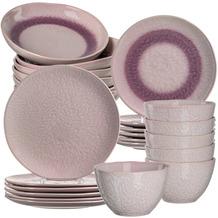 Leonardo Matera Tafelservice für 6 Personen 24-teilig rosa