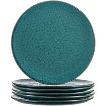 Leonardo Matera Keramikteller 6er-Set 27 cm blau