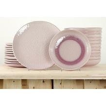 Leonardo Matera Tafelservice für 12 Personen 24-teilig rosa
