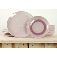 Leonardo Matera Tafelservice für 6 Personen 12-teilig rosa