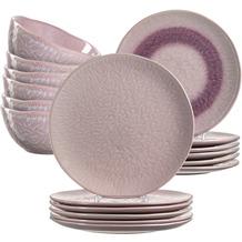 Leonardo Matera Tafelservice für 12 Personen 36-teilig rosa