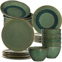 Leonardo Matera Tafelservice für 6 Personen 24-teilig grün
