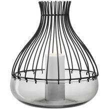 Leonardo Schale Giardino 2-teilig mit Aufsatz 28,8 cm schwarz